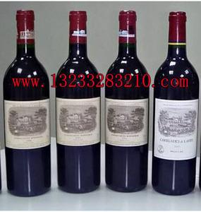 晋城回收拉菲红酒